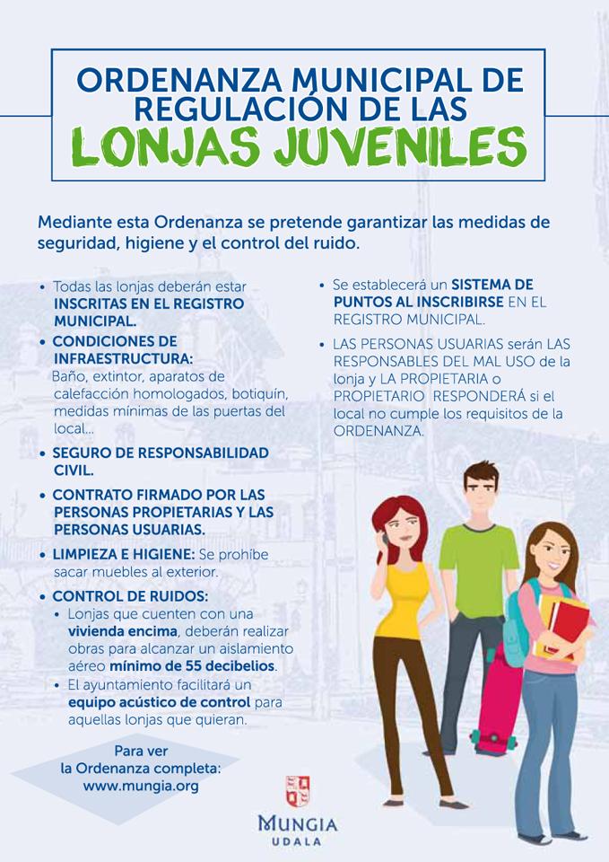 Resumen normativa Lonjas Juveniles