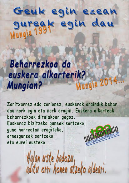 Mungian Euskeraz
